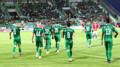 Лудогорец - ЦСКА Москва 0:1 две греди за разградчани (на живо)