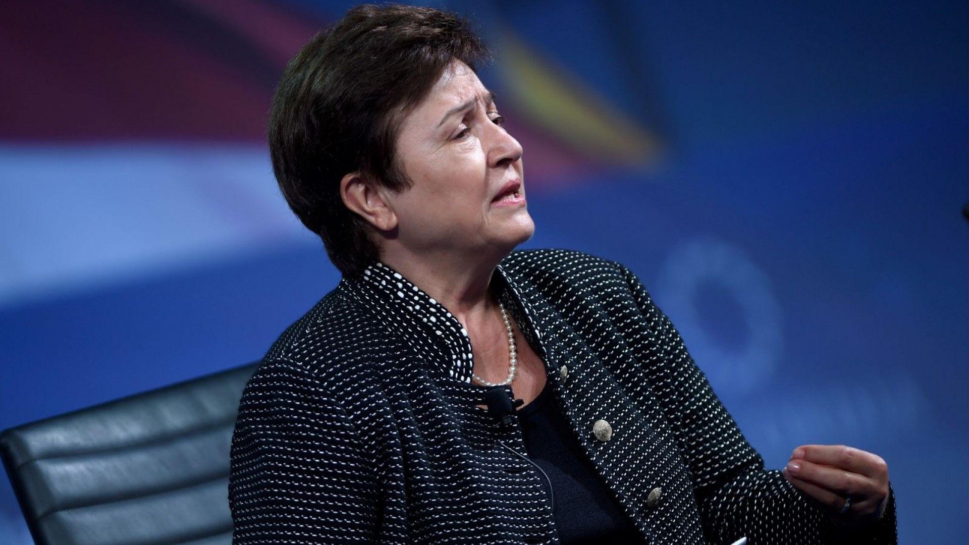 Утвърдиха Кристалина Георгиева за управляващ директор на МВФ