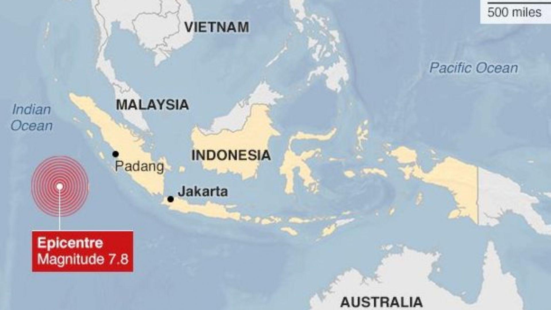 Мощен трус от 7 по Рихтер разлюля остров Суматра