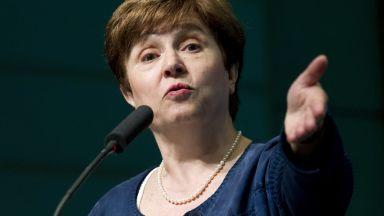Новият шеф на МВФ Кристалина Георгиева: Растежът разочарова, дълговете растат
