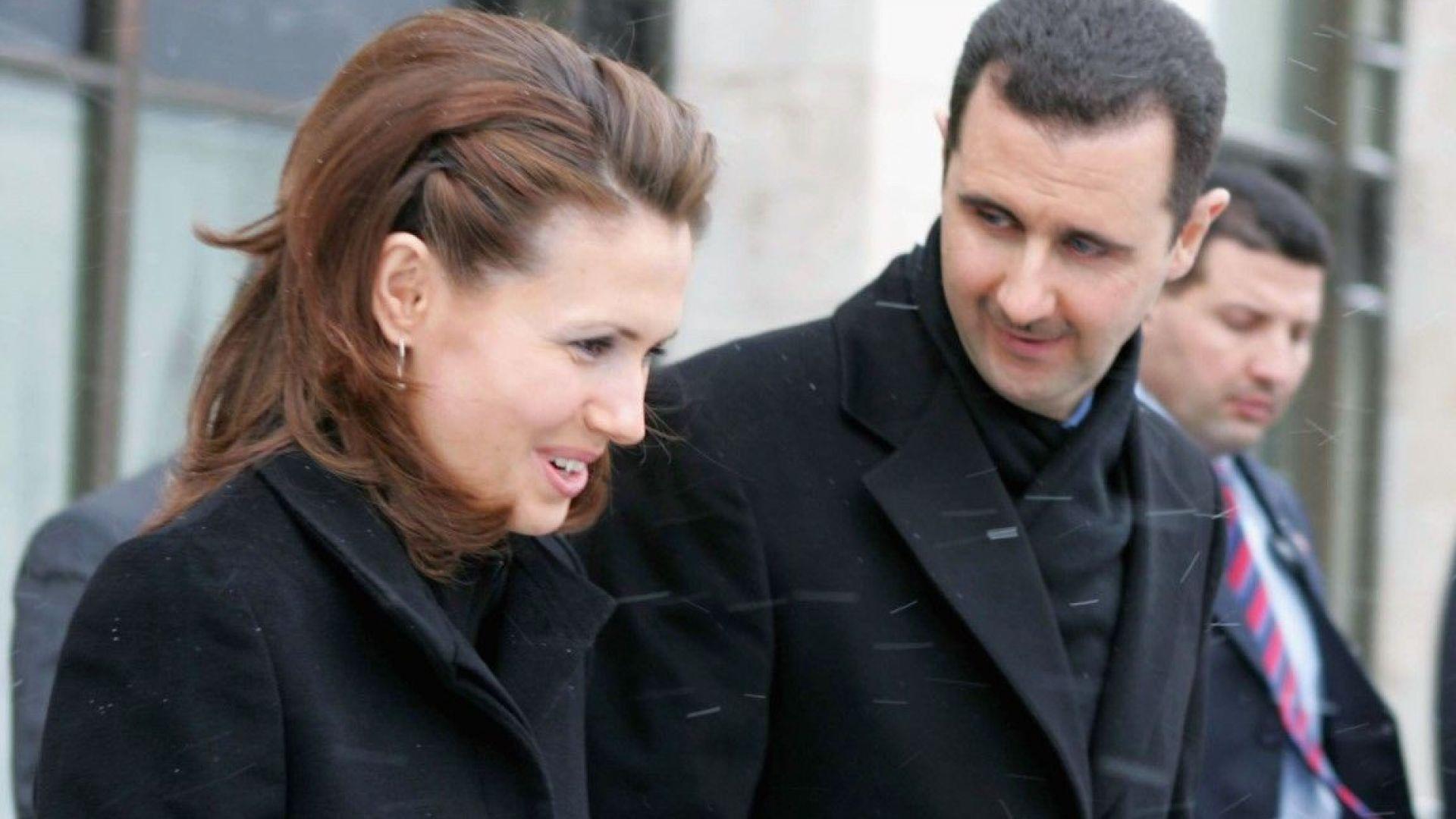 Съпругата на сирийския президент Асма Асад: Напълно победих рака