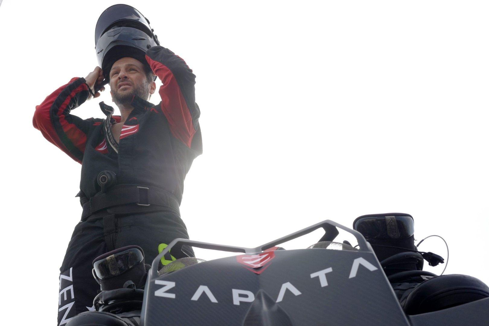 Франки Запата се подготвя за първия си опит на 25 юли