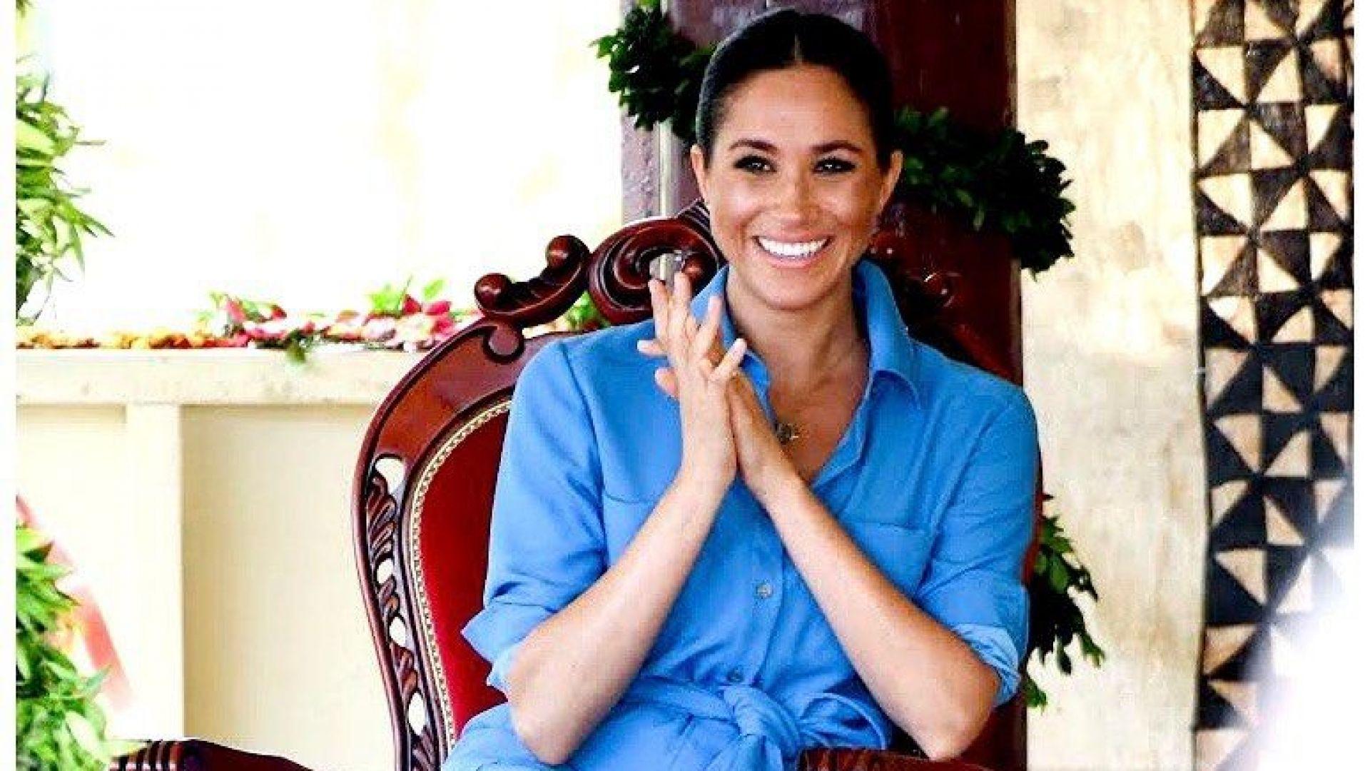 """Принц Хари благодари на """"невероятната си съпруга"""" на рождения ѝ ден"""