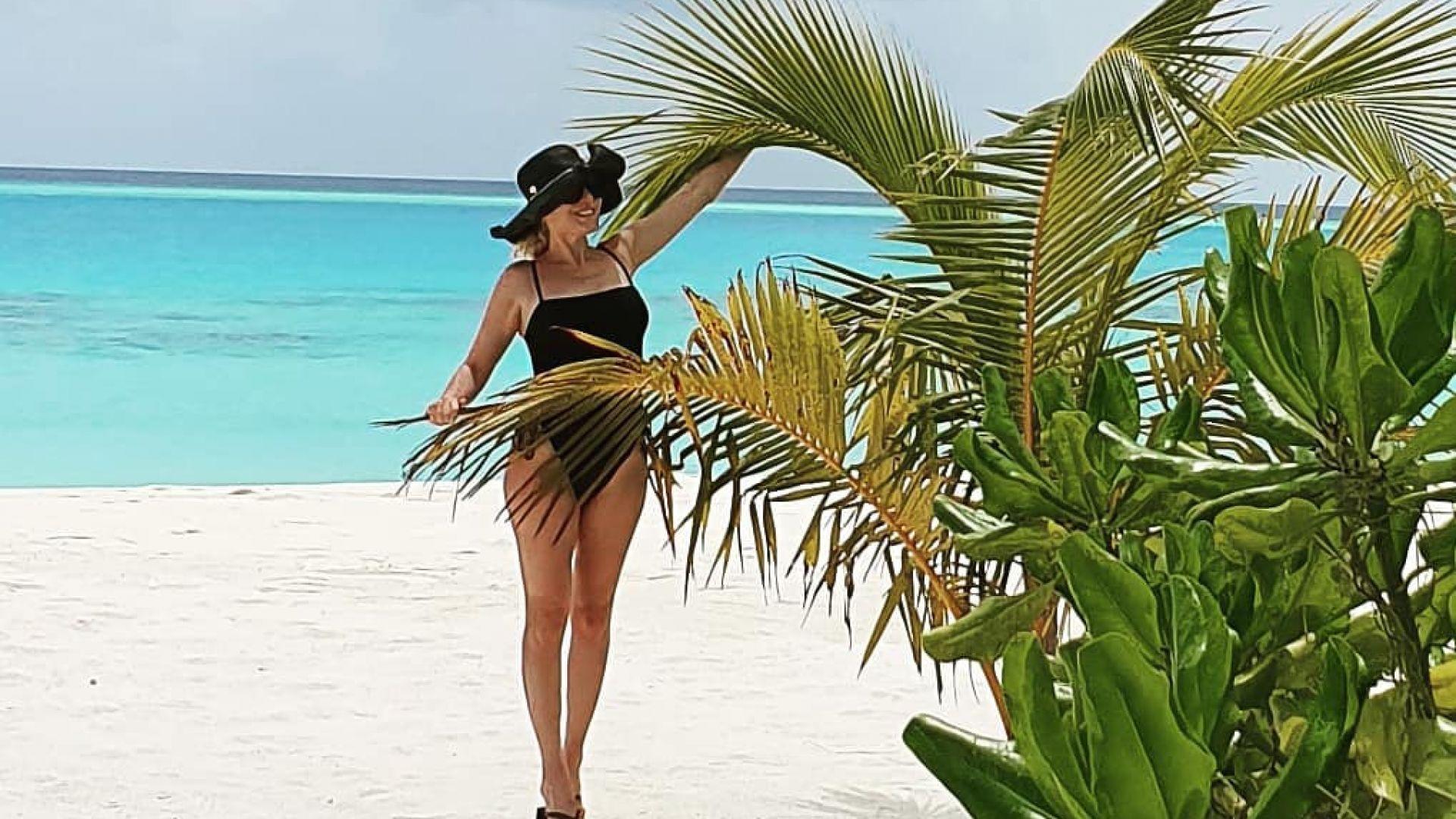 Гала и Стефан на Малдивите (снимки+видео)