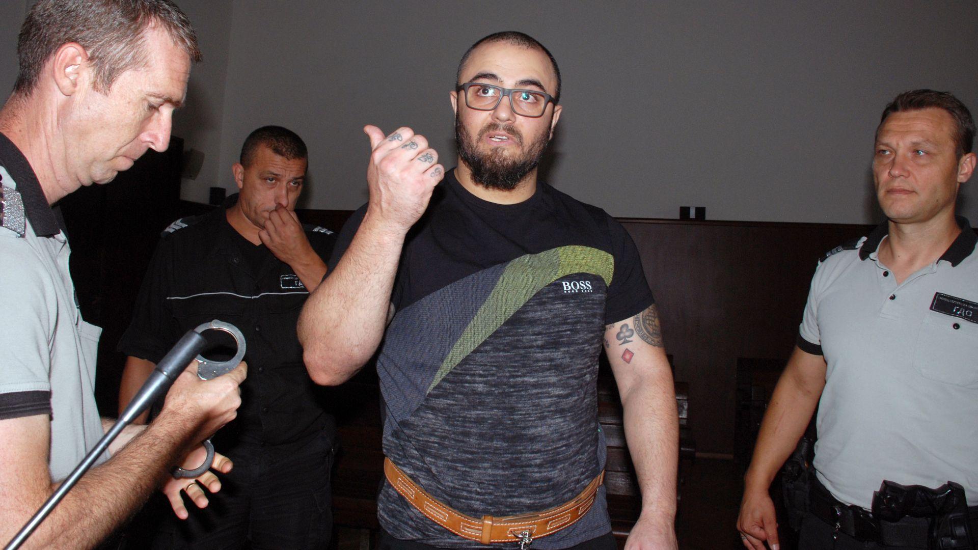 Арестуваният преди седмица от специализирания отряд на МВР -