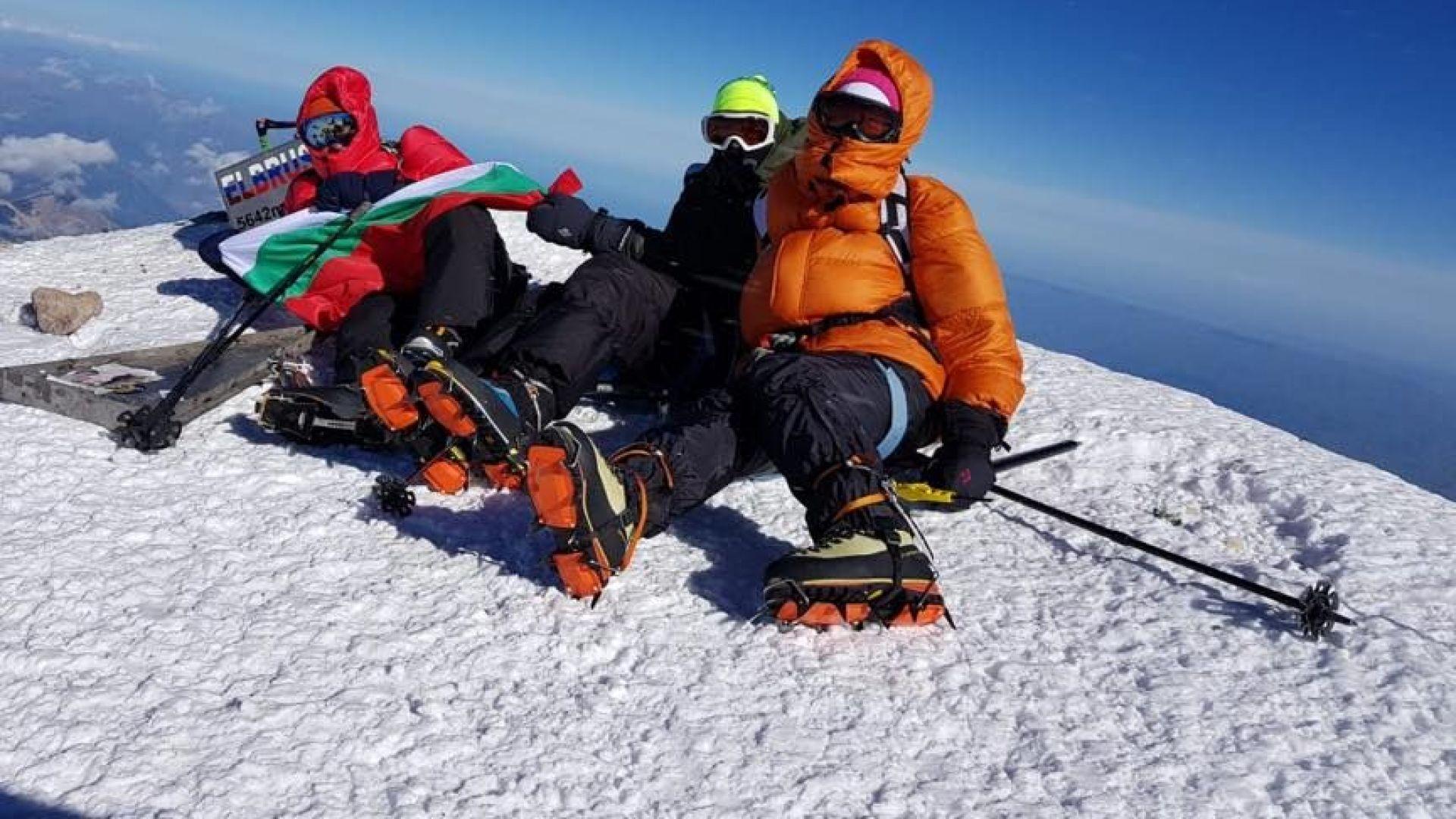 Бившият №1 в Народното събрание изкачи връх Елбрус (снимки)
