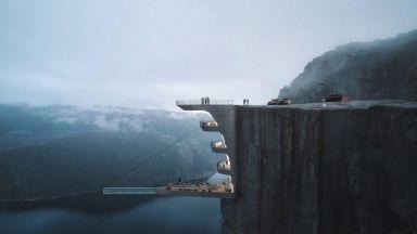 Архитект създава концепция за бутиков хотел, вдъхновена от снимка