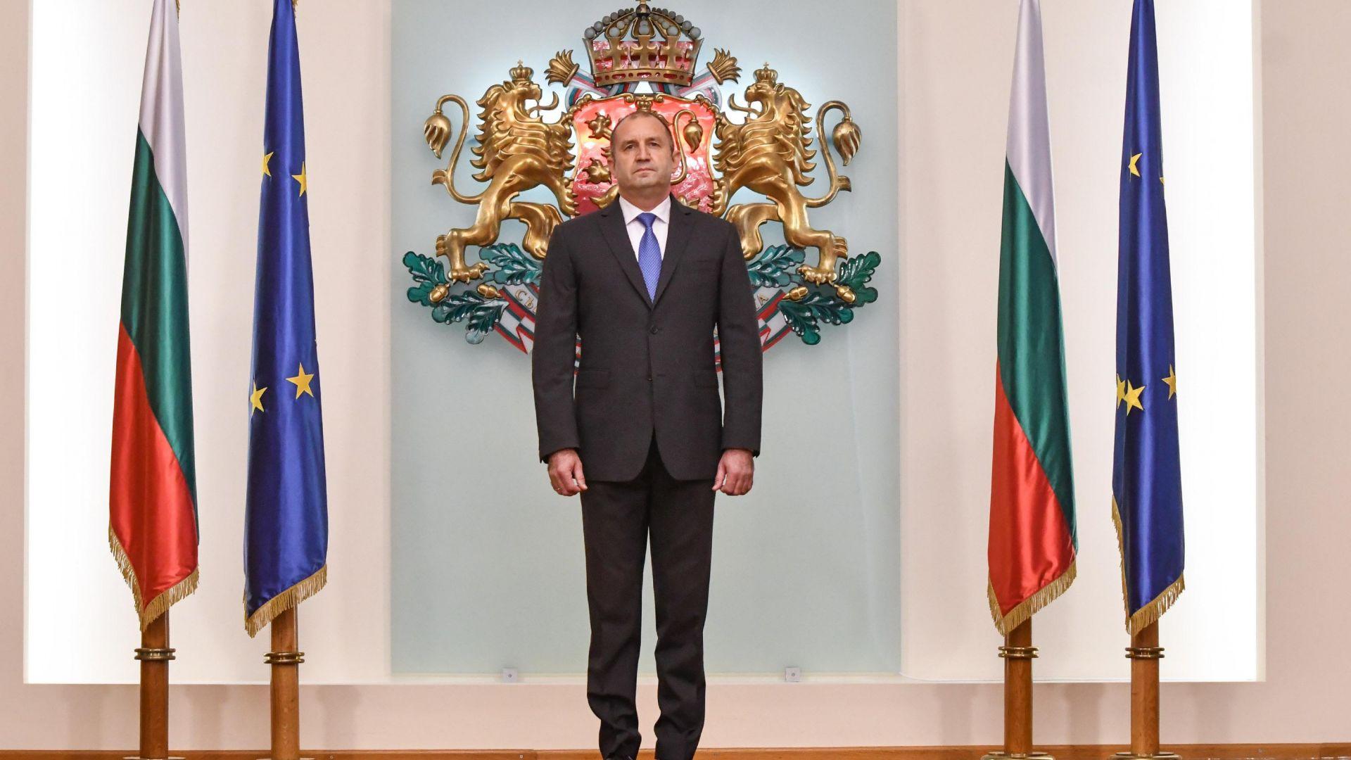 Румен Радев се среща с Иван Гешев