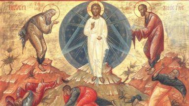 """По традиция първата икона на всеки зограф е """"Преображение Господне"""""""