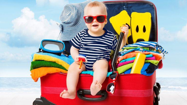 Багажът на бебето: Без какво не можем по време на почивката