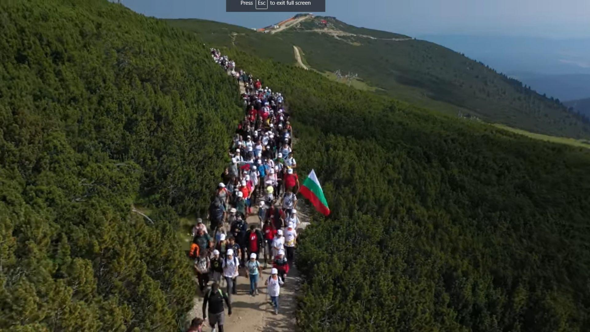 До 5 хиляди лева глоба за влогъра, организирал масово изкачване на Мусала