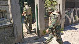 """""""Снарядът"""", заради който отцепиха част от столичен квартал, се оказа камък"""