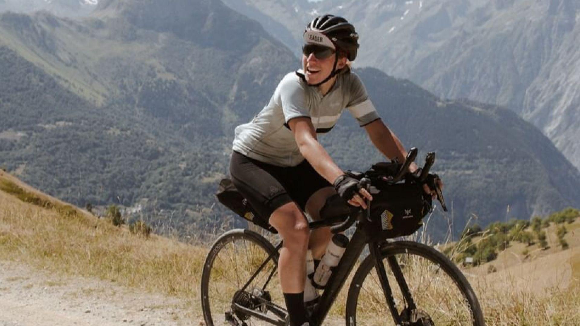 Жена победи над 200 мъже в 10-дневно колоездачно състезание