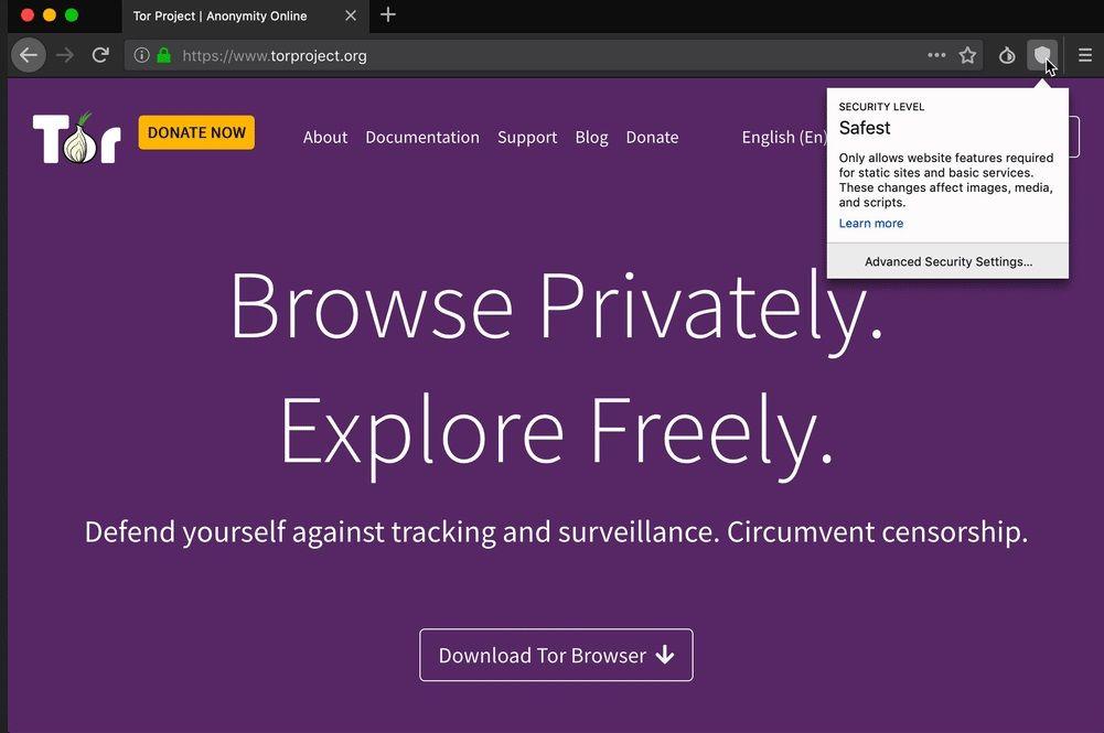 Ако искате да сте анонимни, ползвайте браузъра Tor