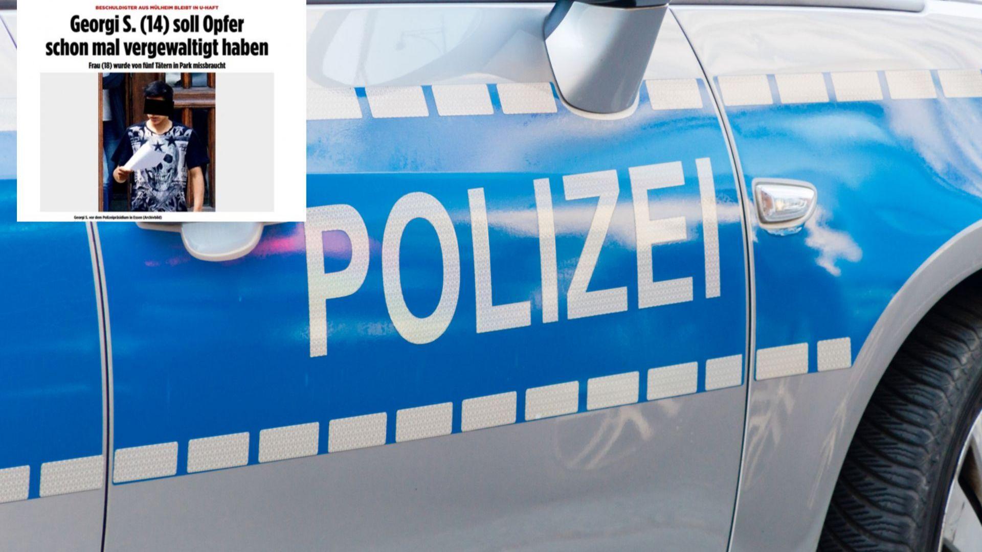 14-годишният Георги, задържан за изнасилване в Германия, и преди се гаврил с жертвата