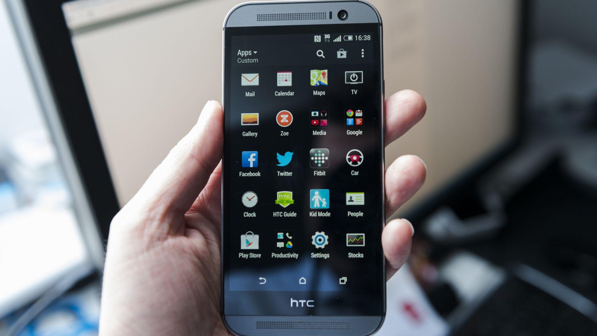 Без смартфони на HTC във Великобритания