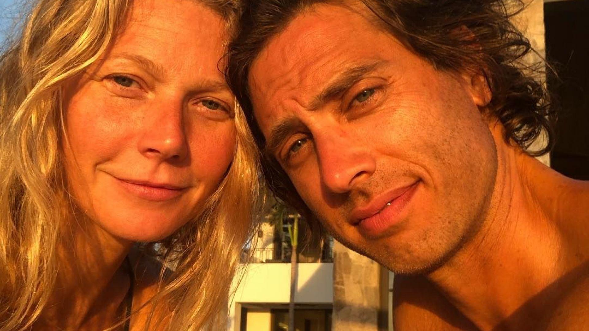 След почти година Гуинет Полтроу най-после заживя със съпруга си
