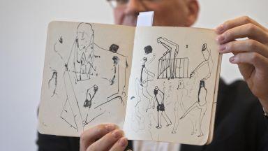 Показаха невиждани досега ръкописи на Франц Кафка