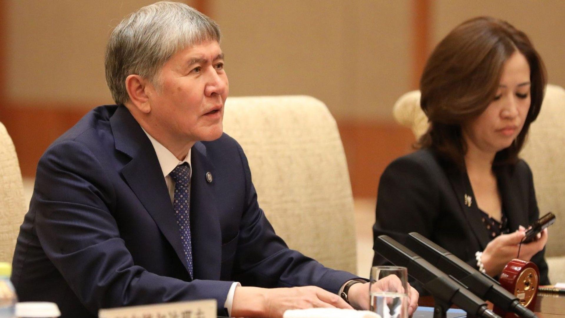 Ожесточени сблъсъци при ареста на бившия президент на Киргизстан