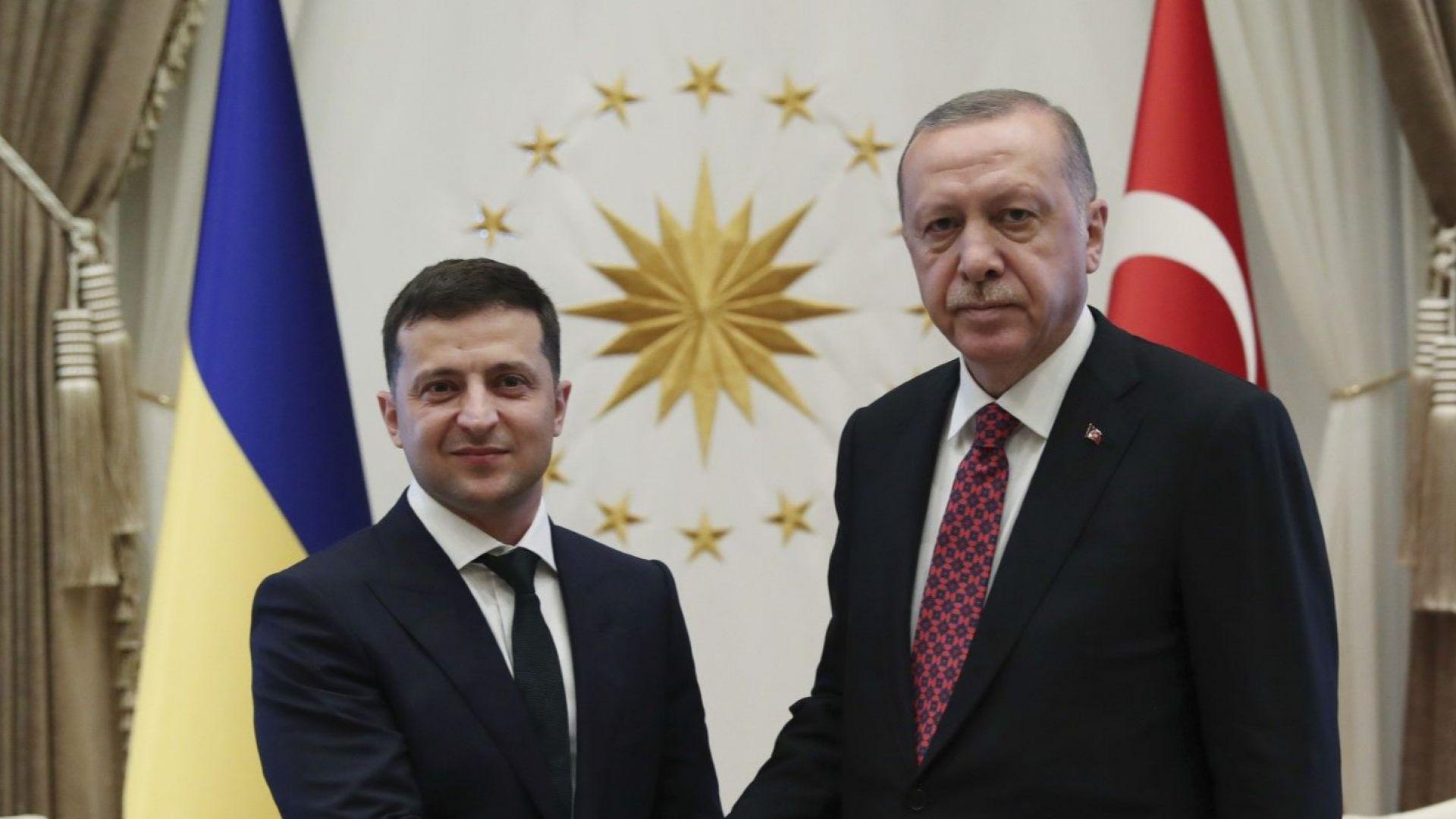 Зеленски предложи на Ердоган Турция да участва във възстановяването на Донбас