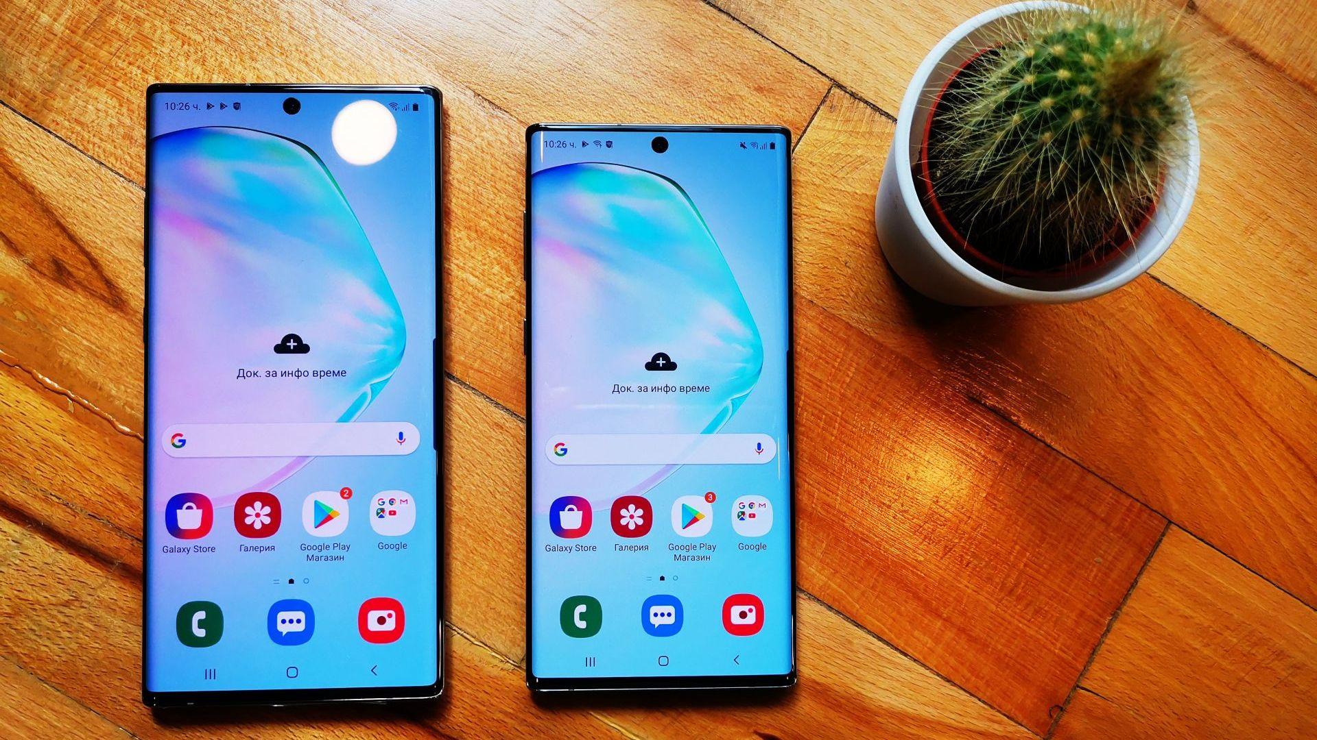 Новият Galaxy Note10 вeче се продава и в България