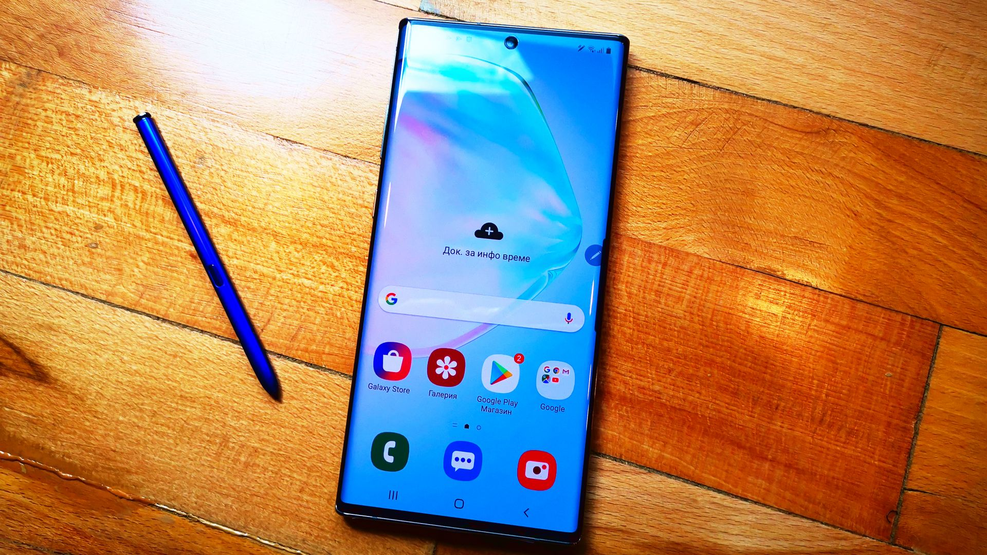 Samsung Galaxy Note10+ има красив дизайн и функционален стилус