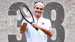 38 пъти Роджър Федерер!