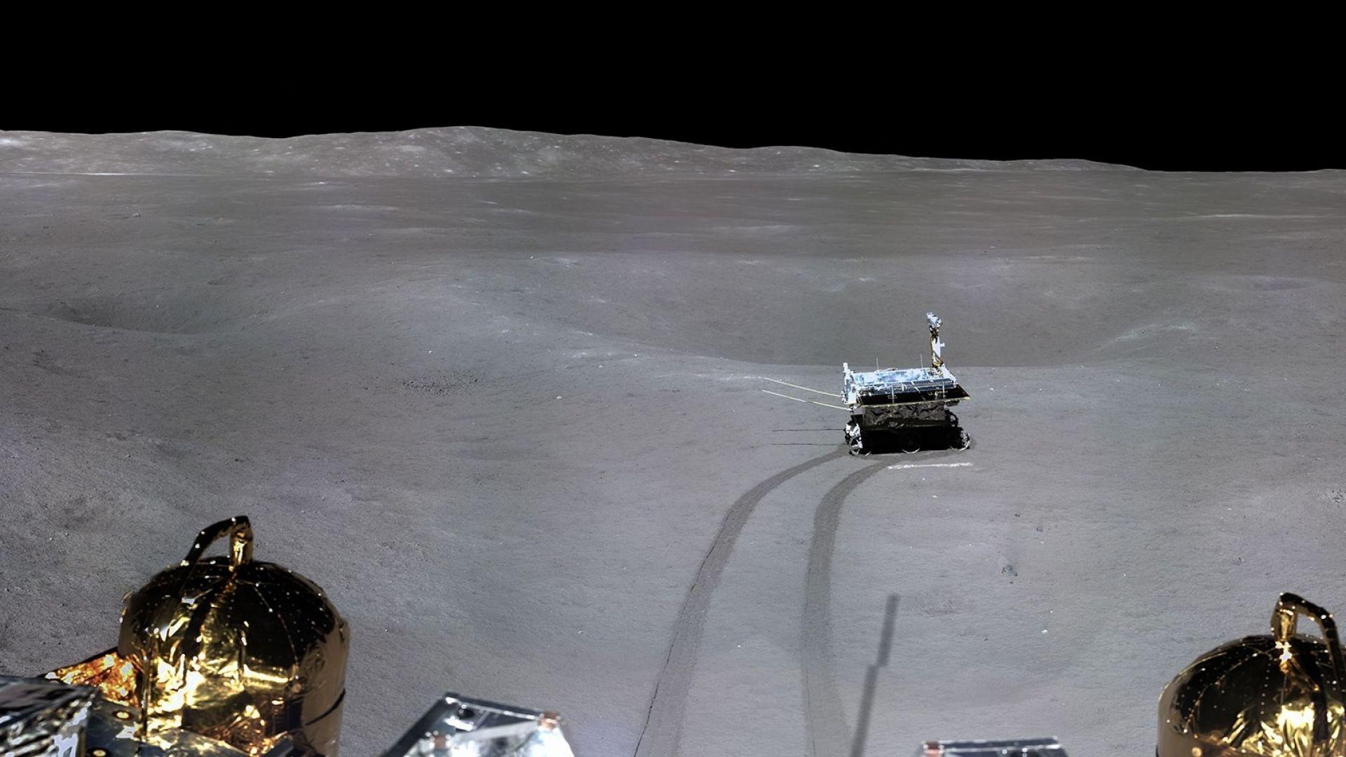 Китай със странно откритие на Луната