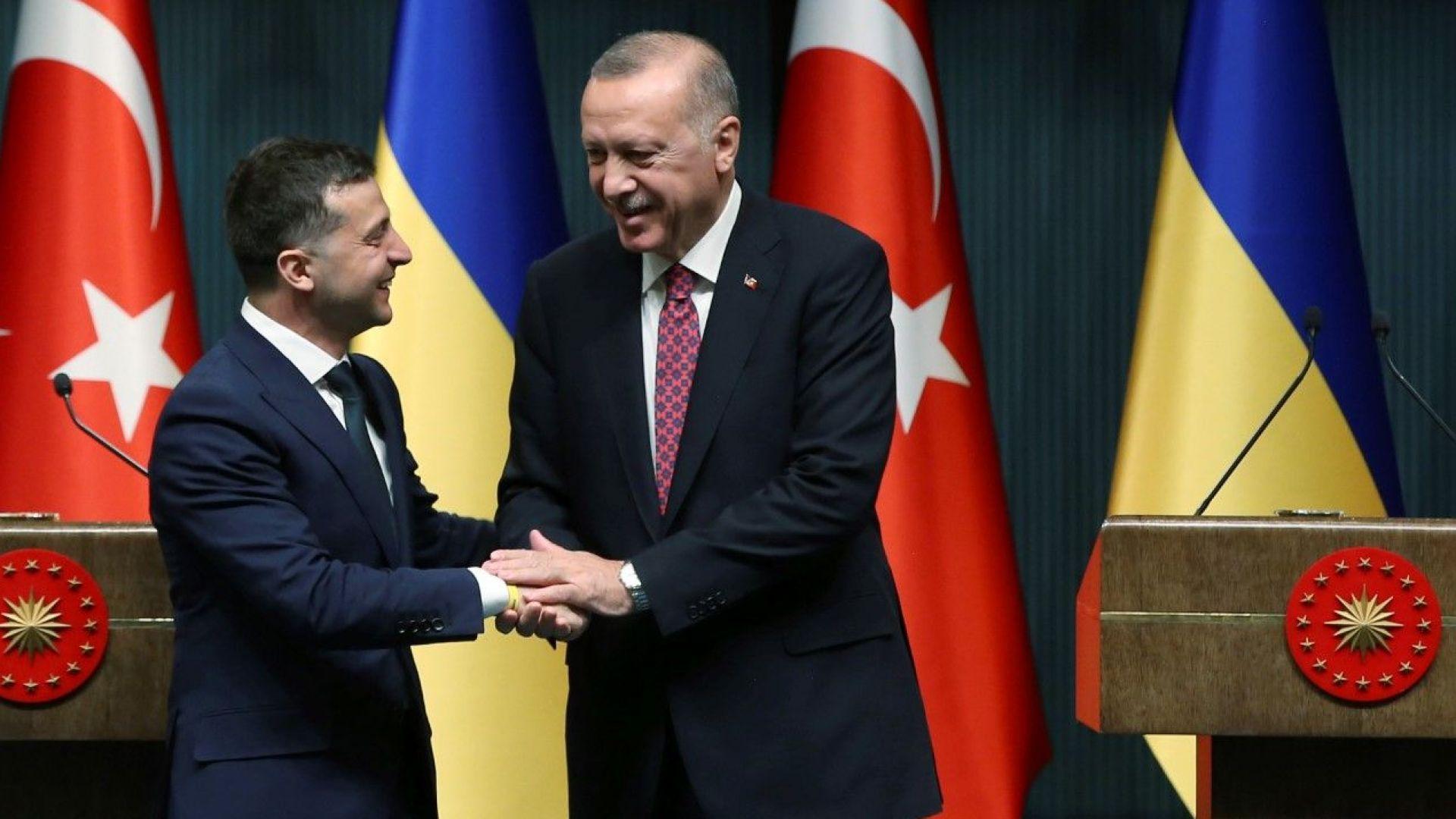 Ердоган потвърди, че Турция не признава анексията на Крим от Русия