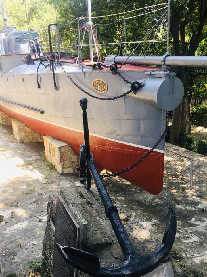 """Корабът """"Дръзки"""" е изложен в историческия музей над Ролбата"""