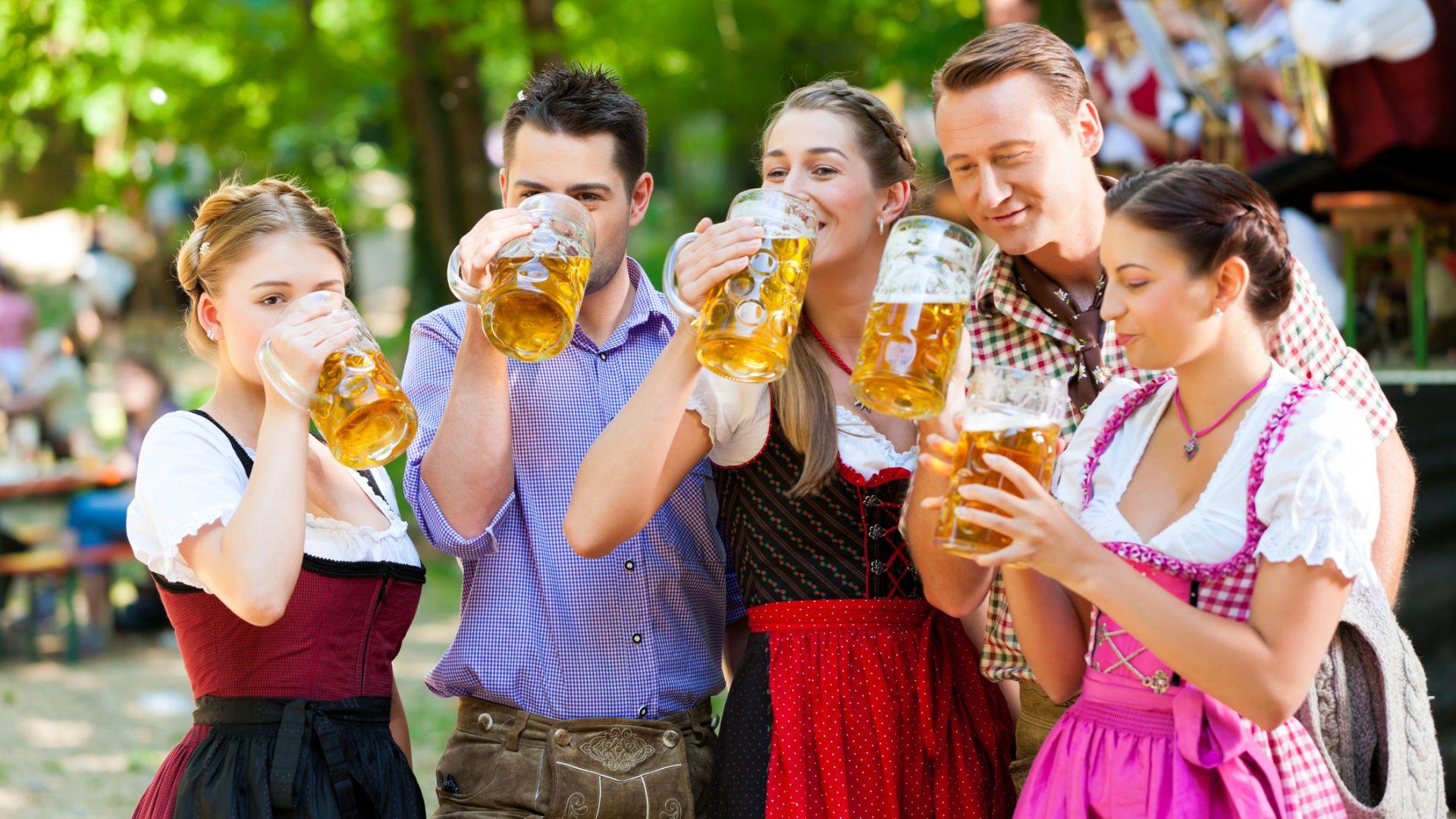Германците, които са известни с консумацията си на бира, все