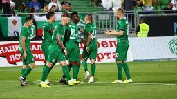 Лудогорец унищожи руския ЦСКА за най-паметната си европейска вечер