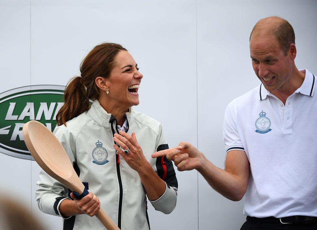 принц Уилям и Кейт Мидълтън на благотворително събитие за Купата на краля