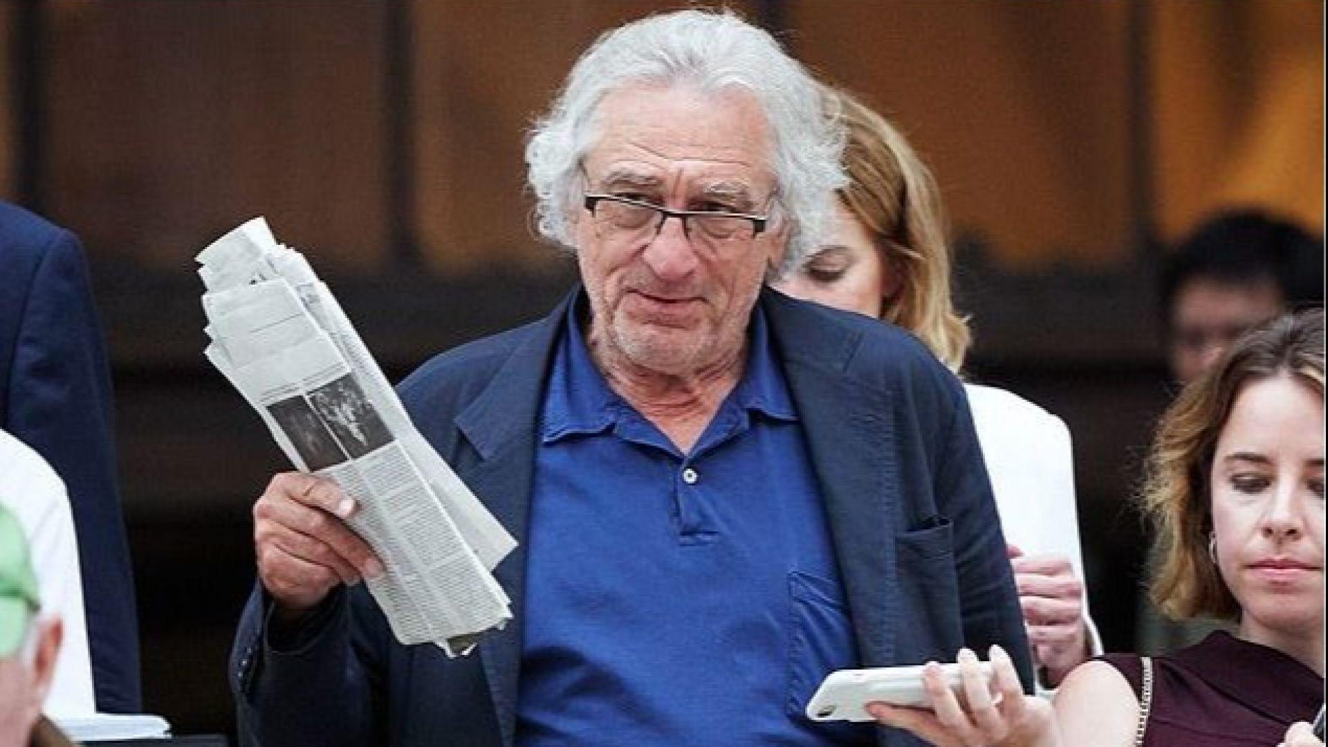 Робърт Де Ниро напуска съда в Ню Йорк