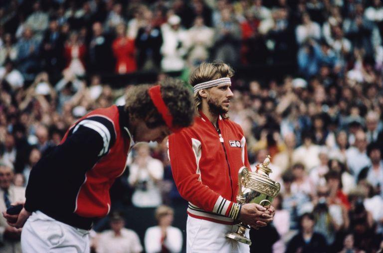 Джон Макенроу - Бьорн Борг - Години на съперничество: 1978-81. Общ баланс: 7-7. В турнири от Големия шлем: 3-1 за Макенроу. На финали в Шлема: 3-1 за Макенроу. Титли от Шлема: Борг 11, Макенроу 7.