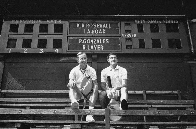 Род Лейвър - Кен Розуол - Години на съперничество: 1963-76. Общ баланс: 89-75 за Лейвър (приблизително). В турнири от Големия шлем: 1-1. На финали в Шлема: 1-1. Титли от Шлема: Лейвър 11, Розуол 8.