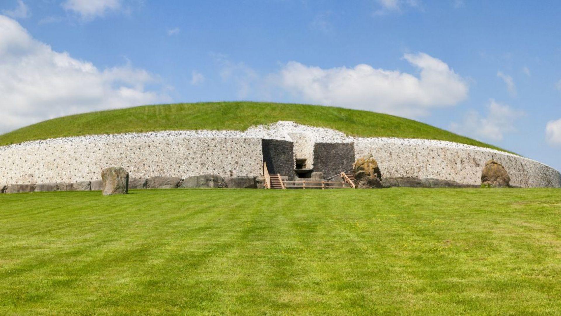 Снимка: Археолози попаднаха на загадъчни древни монументи в Ирландия
