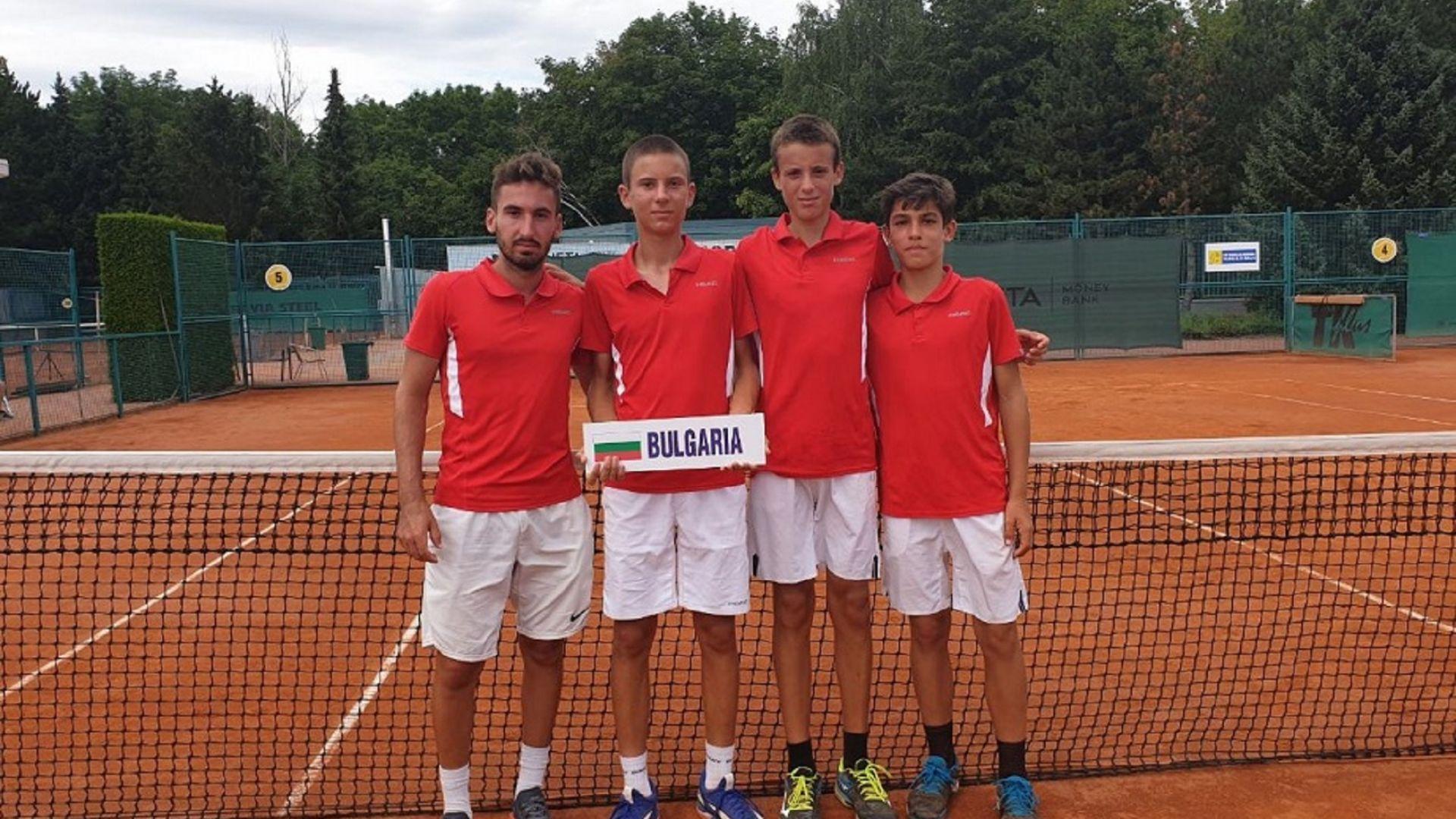 Юношите ни с пето място на Световното по тенис