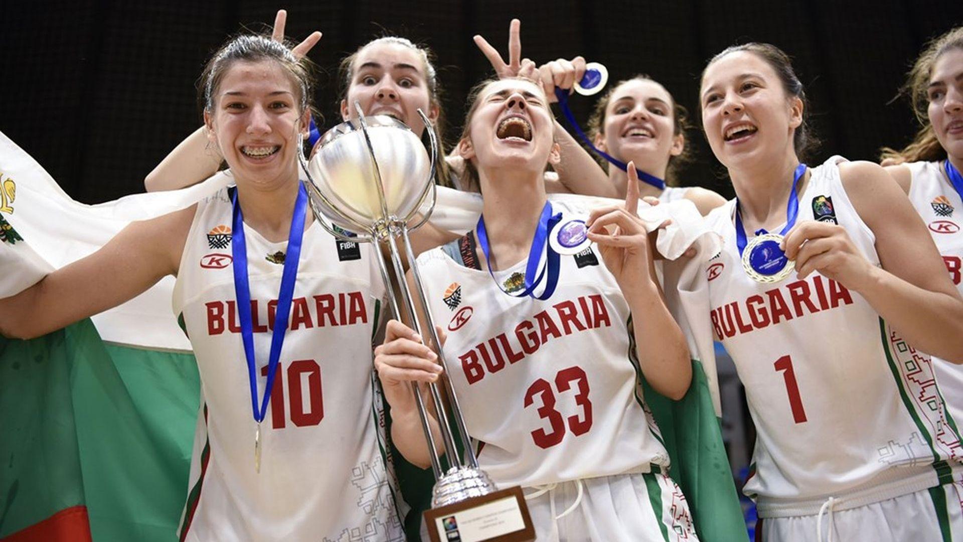 Златни български момичета с европейска титла по баскетбол (снимки)