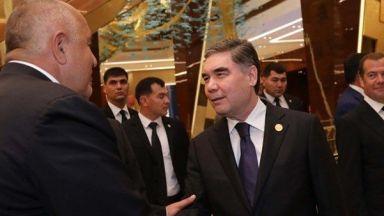 Борисов търси партньори в Каспийския регион, разговаря с вицепрезидента на Иран