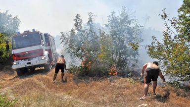 Шефът на пожарната призова в Шишманци да затварят врати прозорци