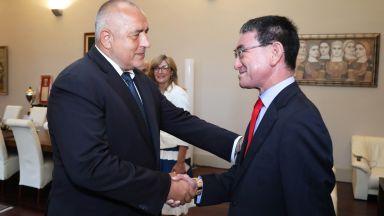 Износът от България към Япония - акцент на срещата между премиера Борисов и външния министър Коно