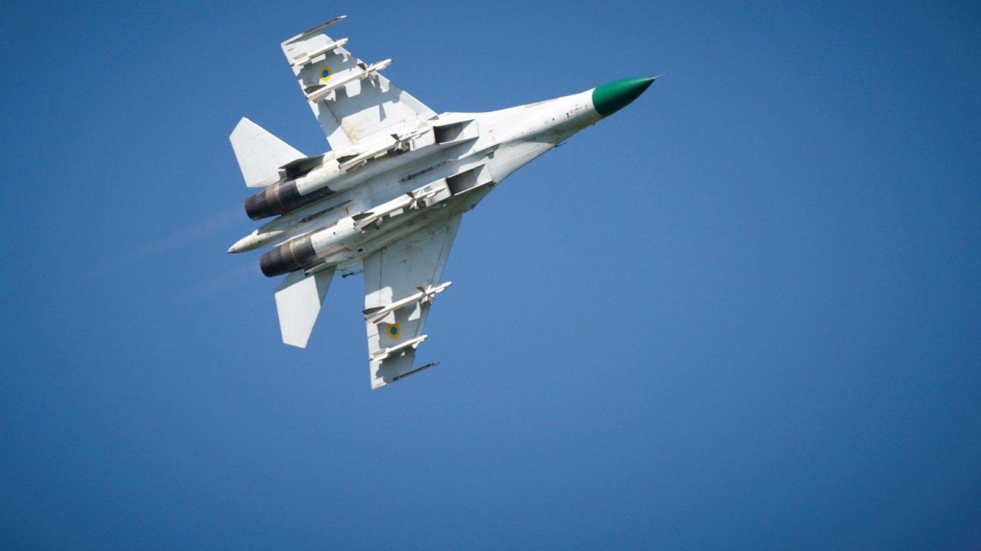 Су-27 прихвана американски разузнавателен самолет над Черно море