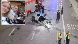 Спасиха младата жена от разцепеното пежо, мъжете са в критично състояние