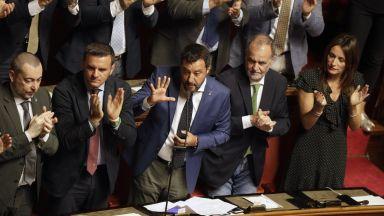 Италия отложи дебата за бъдещето на правителството за 20 август