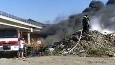 """Прокуратурата започна разследване за пожара при АМ """"Струма"""""""