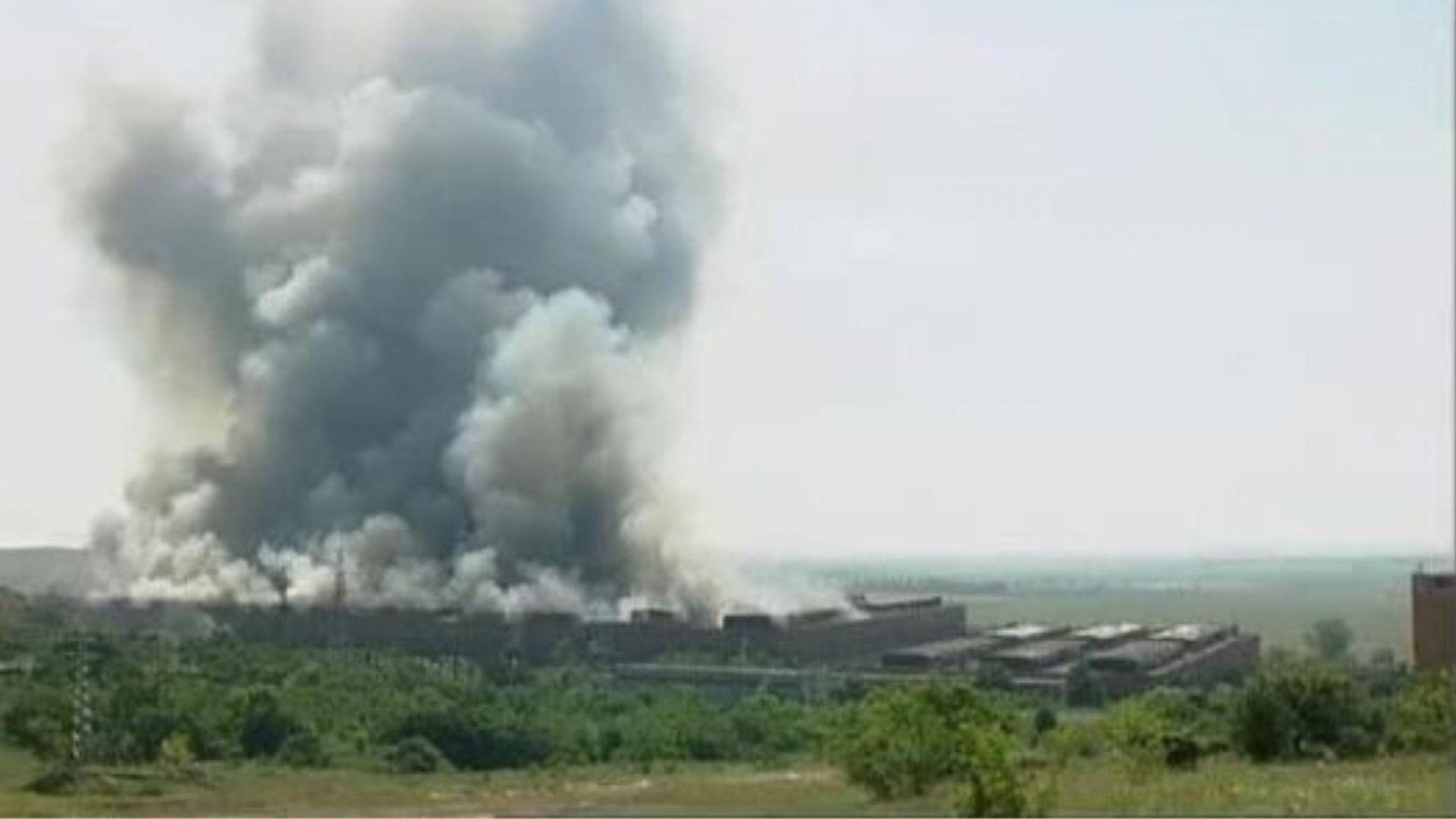 Засякоха фини прахови частици във въздуха от пожара край Шишманци