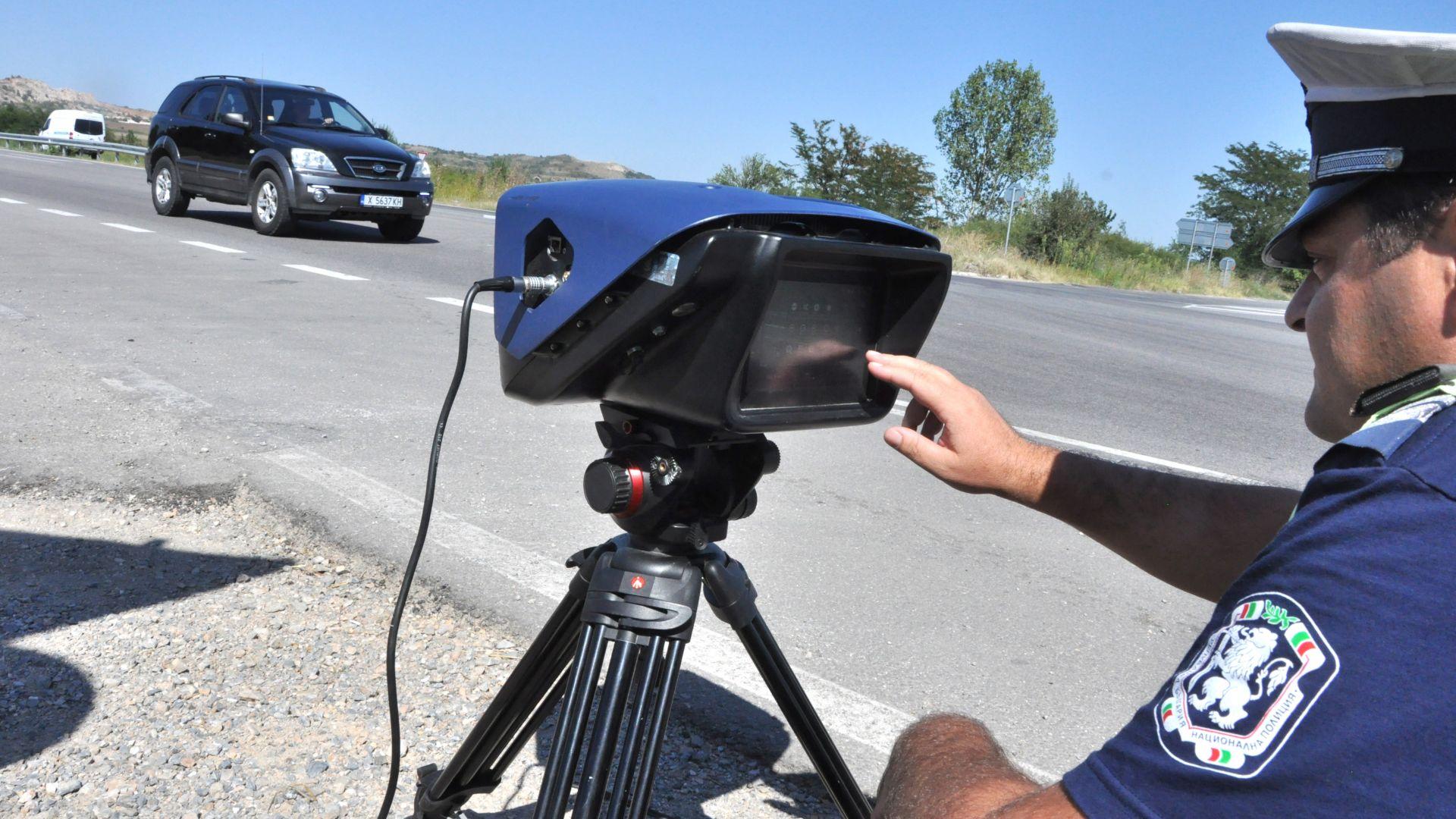 Снимаха шофьор със 120 км/ч над ограничението в Пловдив