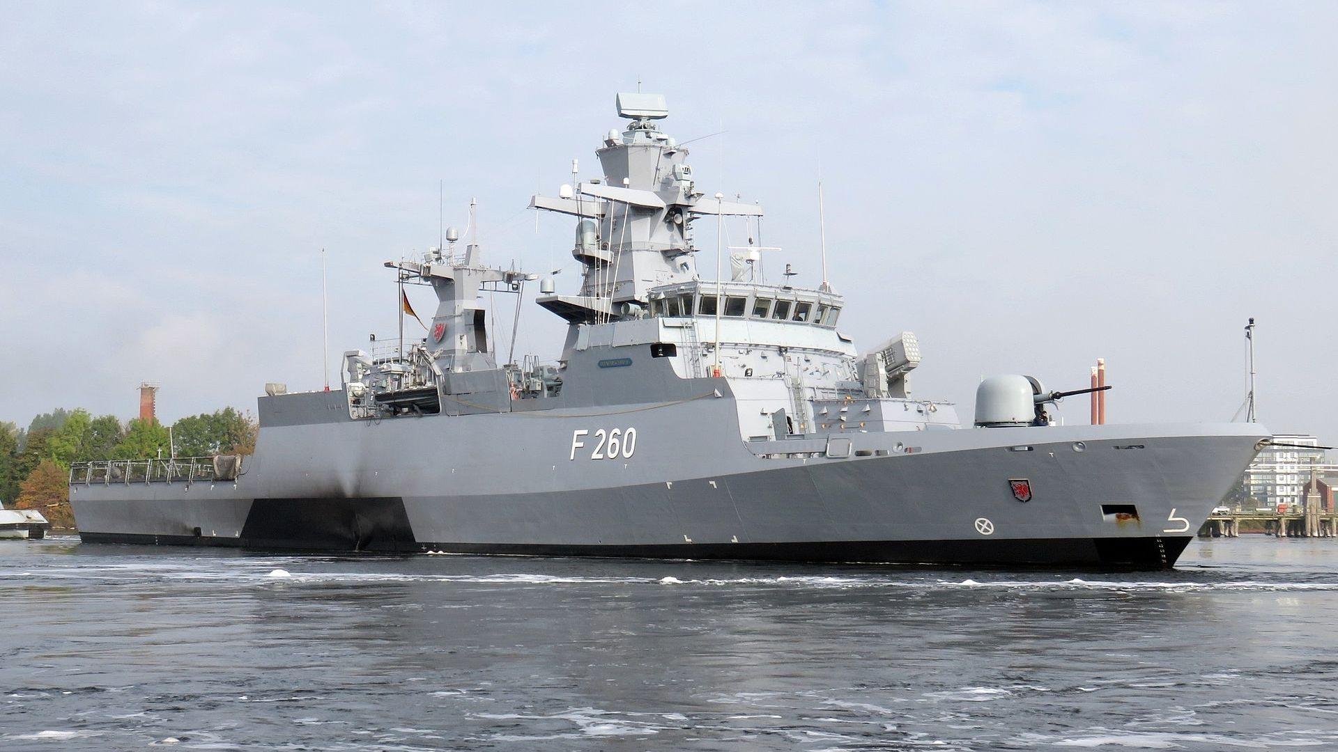 Лазерно оръжие подсилва немските ракетни кораби