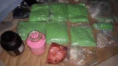 МВР пусна снимки на дрогата, открита в нает гараж от групата на Радо Ланеца